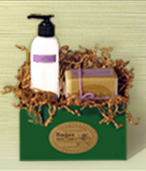 Sages Small Gift Box #1 - Lotion & Soap