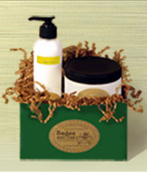 Sages Small Gift Box #2 - Lotion and Sugar Scrubs