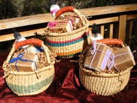 Hand woven Bolga Baskets with Sages Products
